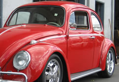 red 1963 bug