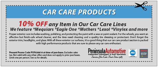 car care products coupon