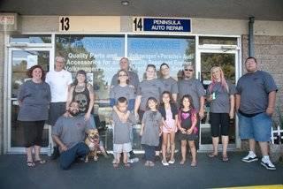 peninsula automotive family and employees