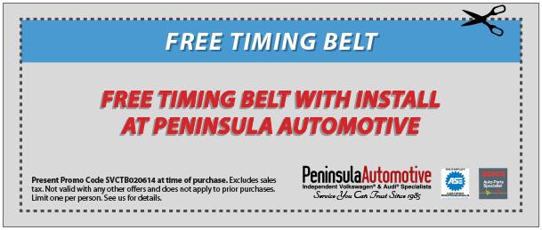 Timing Belt Replacement | VW & Audi Repair | Peninsula