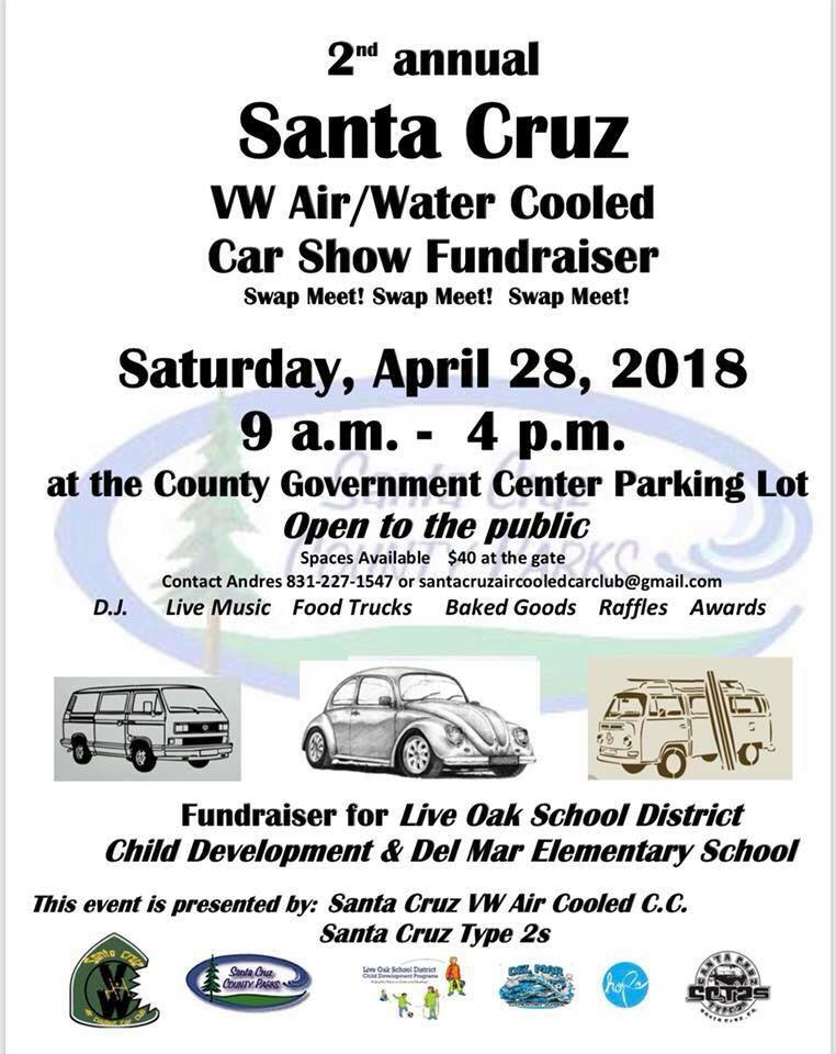 Santa Cruz VW April St Peninsula Automotive - Santa cruz car show